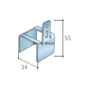 S40/S80 takaró klip