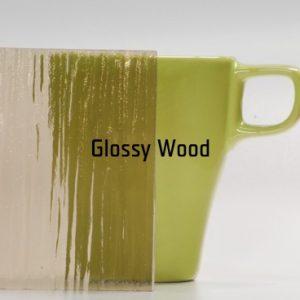 Bark bronz üvegbetét