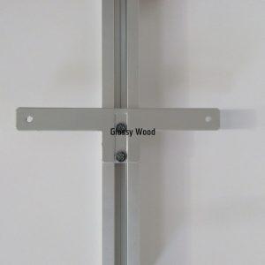 Alumínium gardróbrendszer SWS korpusz