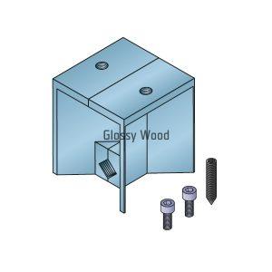Alumínium asztal profil csatlakozó