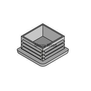 Alumínium asztal profil vég